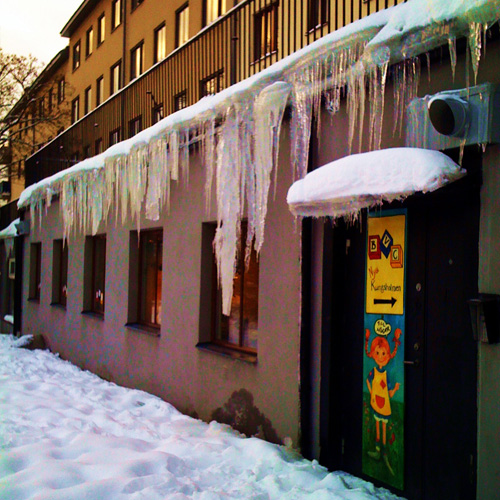 iPhone photography: Icicles