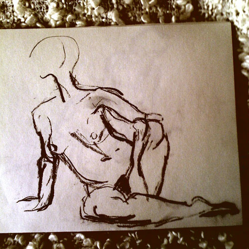 iPhone photography: life drawing