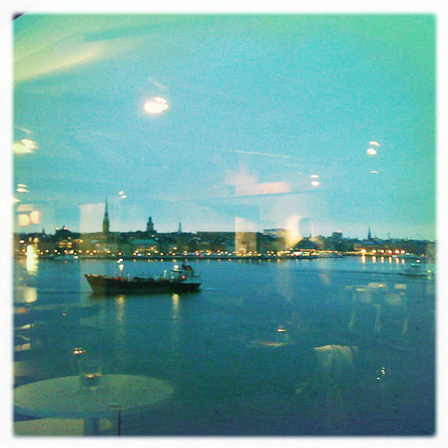 iPhone photography: Old Town seen from Fotografiska
