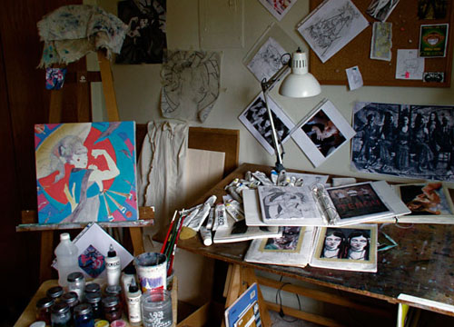 Jamie Berry's studio