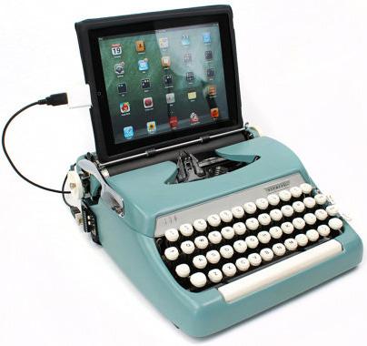 Vintage USB Typewriter Computer Keyboard.