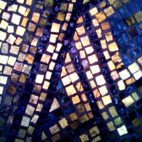 iPhone photography: Gold mosaics from the Golden Hall in Stadshuset