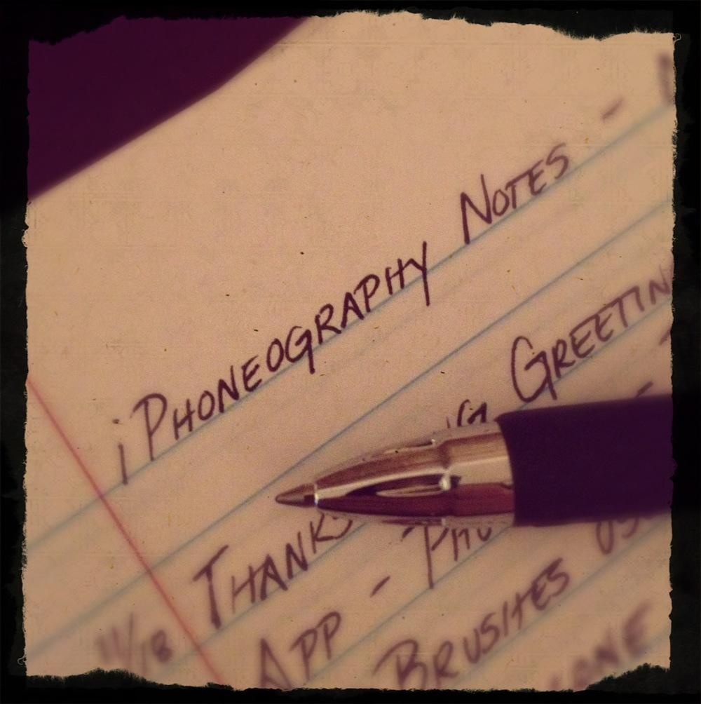 iPhoneography Notebook by Jennifer Lynn Bishop
