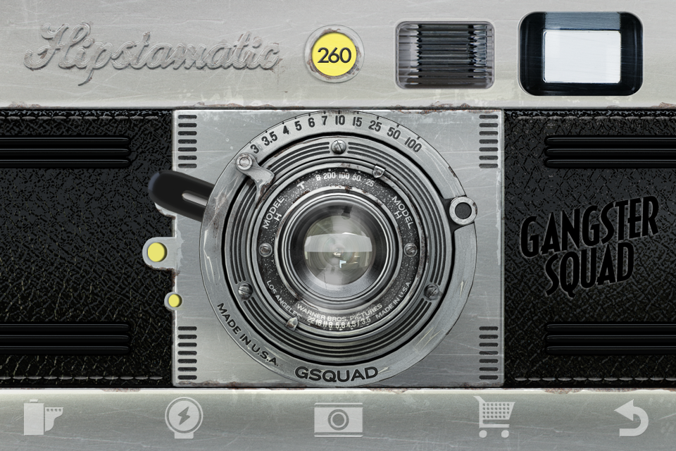 Hipstamatic. Gangster Deco Case