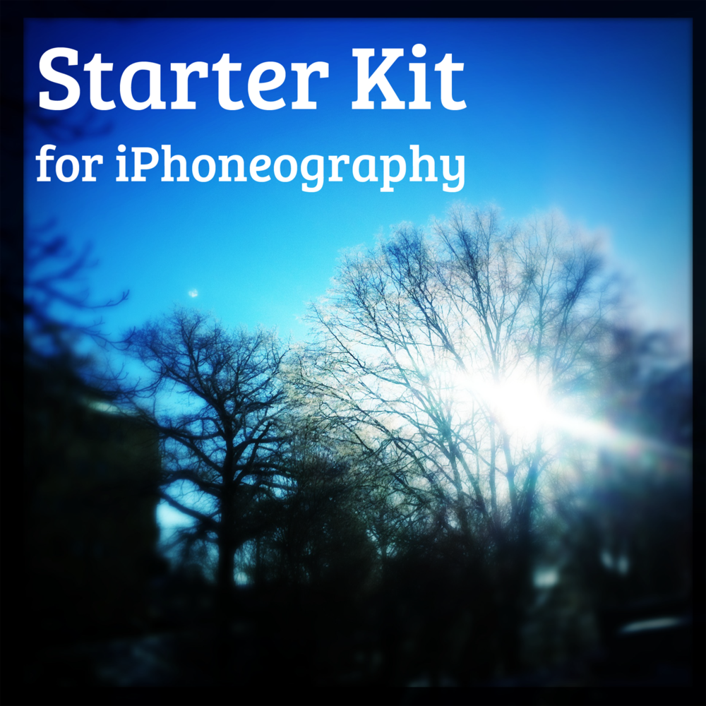 Starter Kit for iPhoneography
