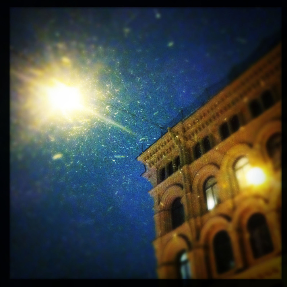 mobile photography: snow and light