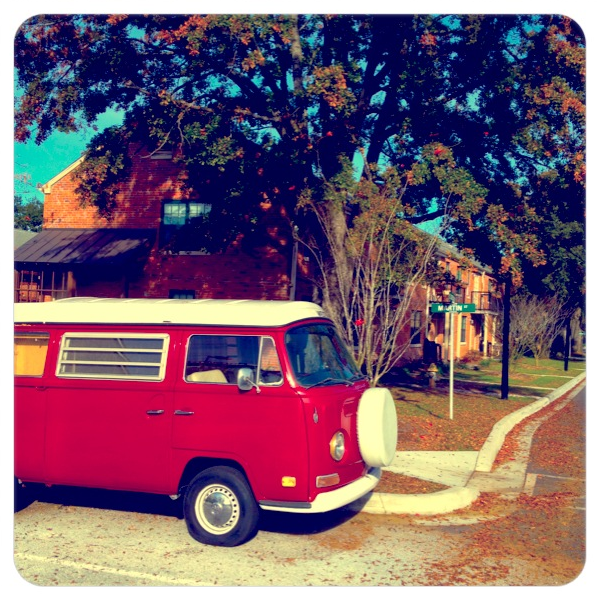 VW Bus - Processed with Vintique
