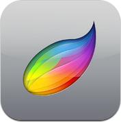 Procreate painting app for iPad