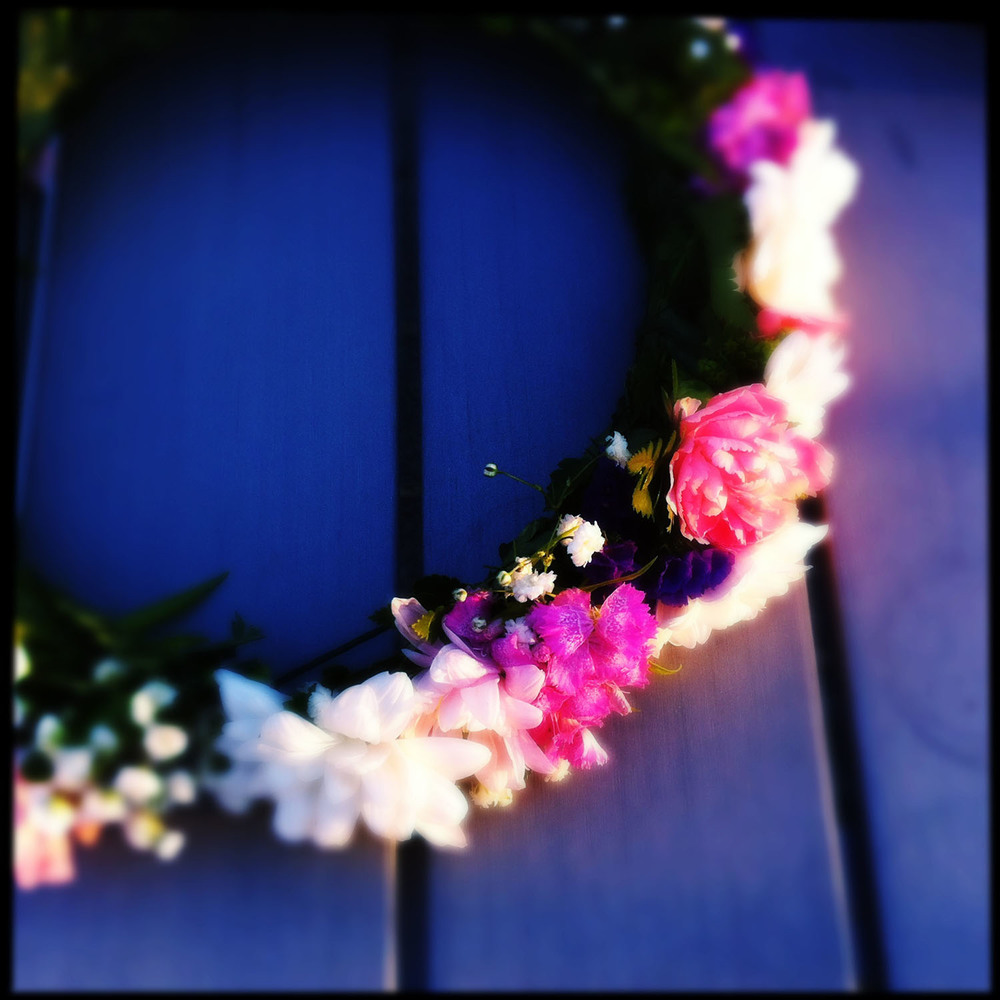 Midsummer Garland. iPhoneography.