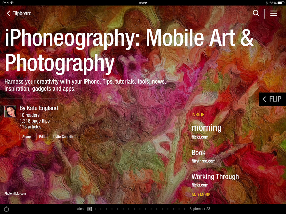 iPhoneography: Mobile Art & Photography Magazine