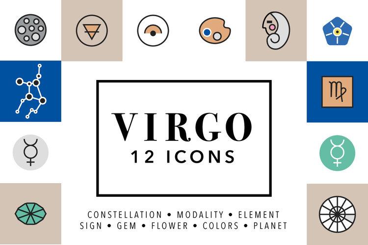 Virgo Symbols Marmalade Moon