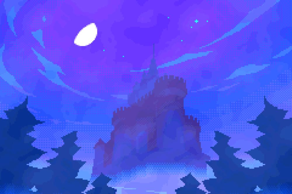 Fog Castle. Let's hunt a vampire.