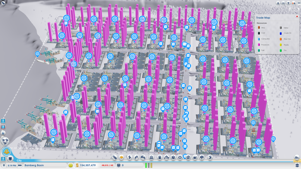 SimCity . I had a lot of processors.