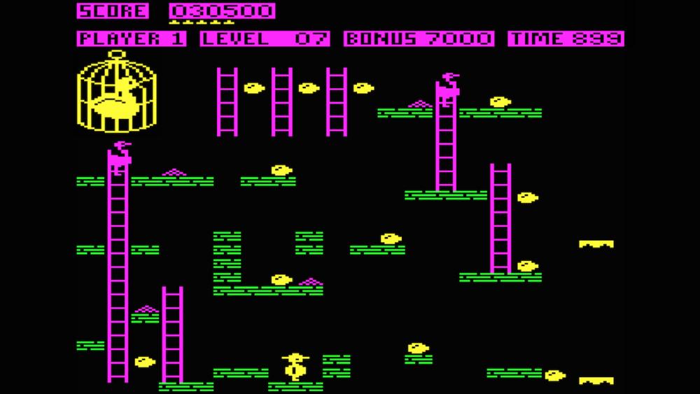 Chuckie Egg  (1983)  Source