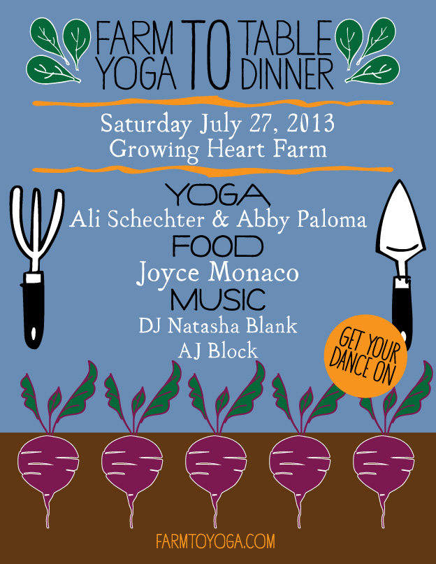 Farm To Yoga july 27th