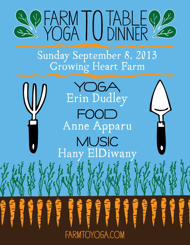 Farm To Yoga September 8th
