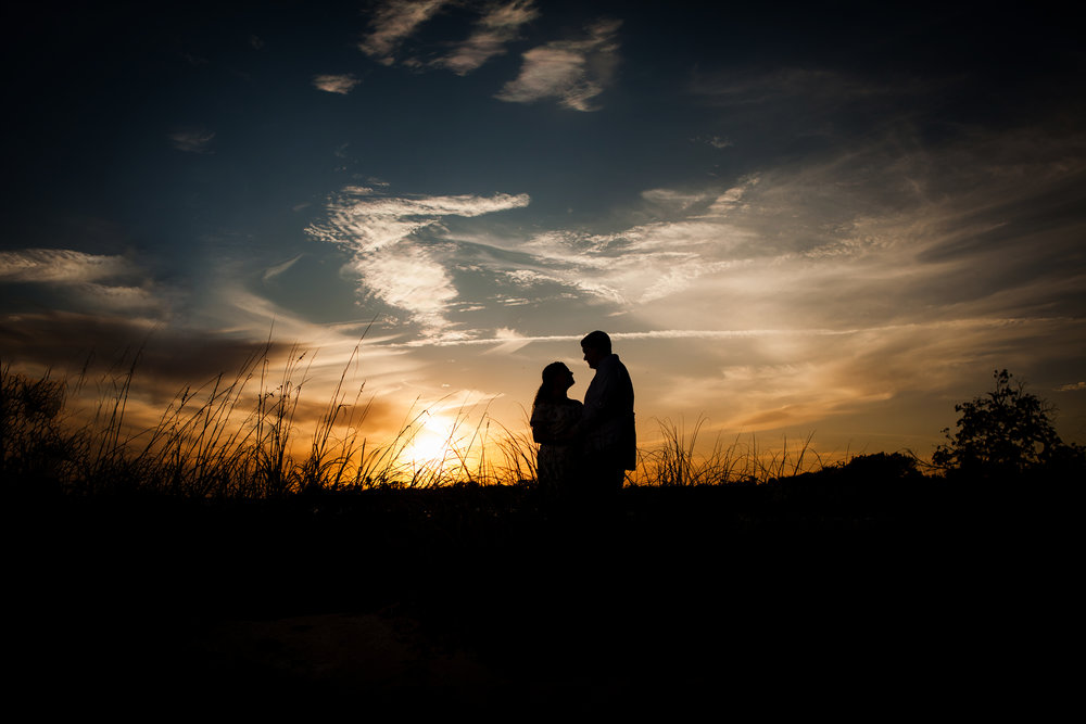 Sunset Engagement Session in Miami