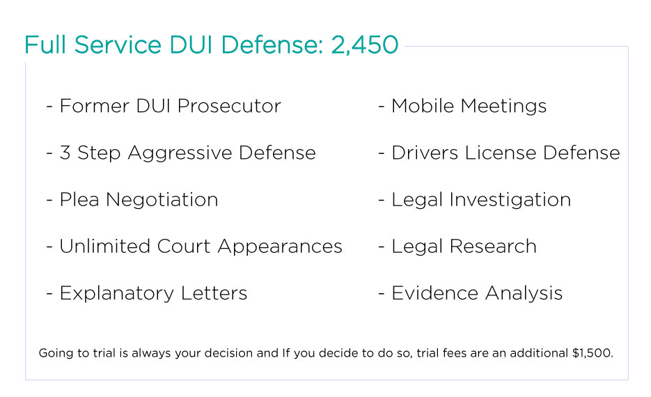 Phoenix DUI Aggressive defense
