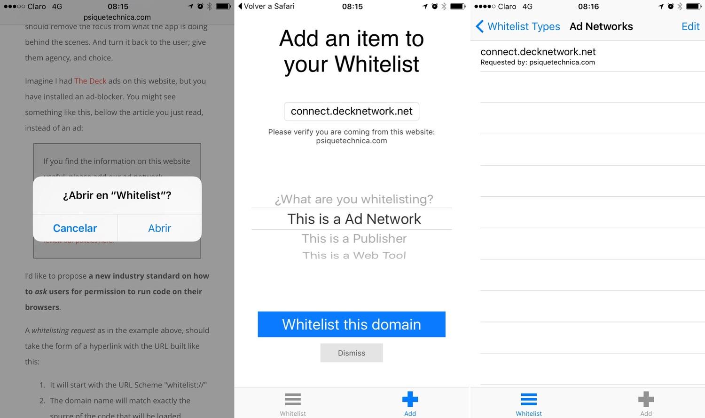 Whitelist: Permission Based Marketing for the Web — Psiqué Technica
