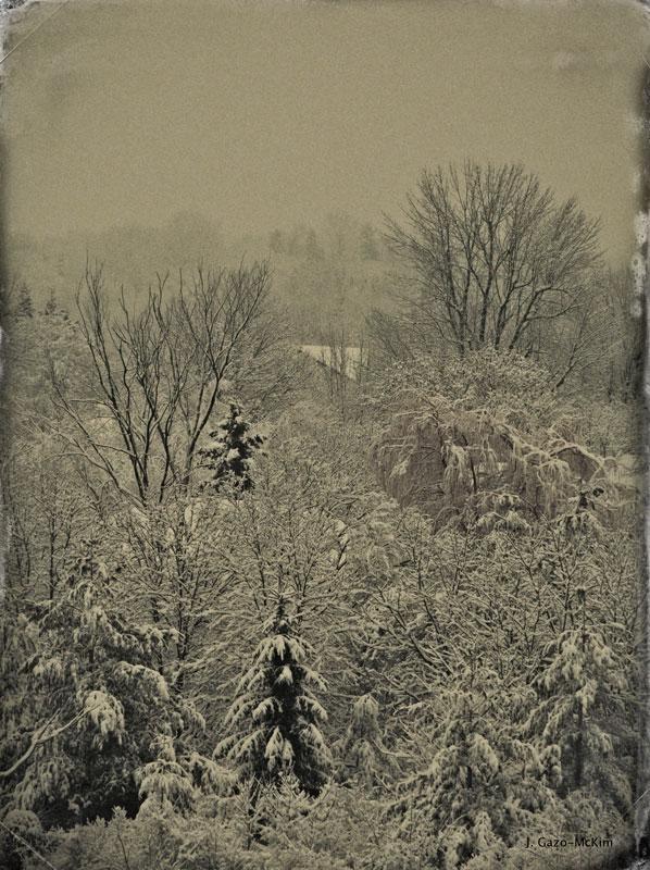 Old Fashioned Winter by J. Gazo-McKim ©2014