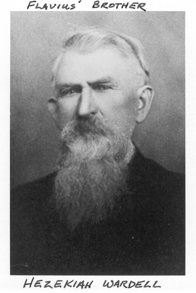 Hezekiah Wardell - lumber dealer & builder of Brick House on Main.