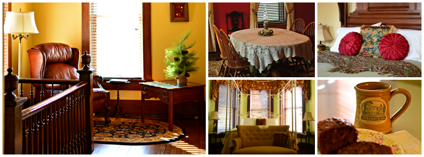 Brick House on Main... beautiful... elegant... a peaceful oasis waiting just for you!