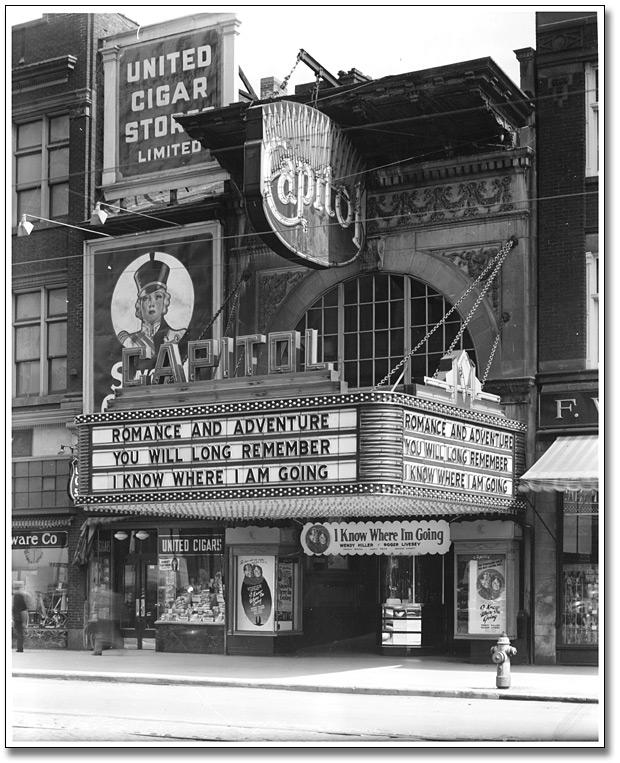 Capitol Theatre, 1945