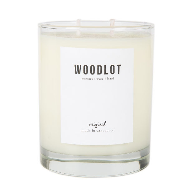 Gift Ideas from BRIKA : Woodlot candle