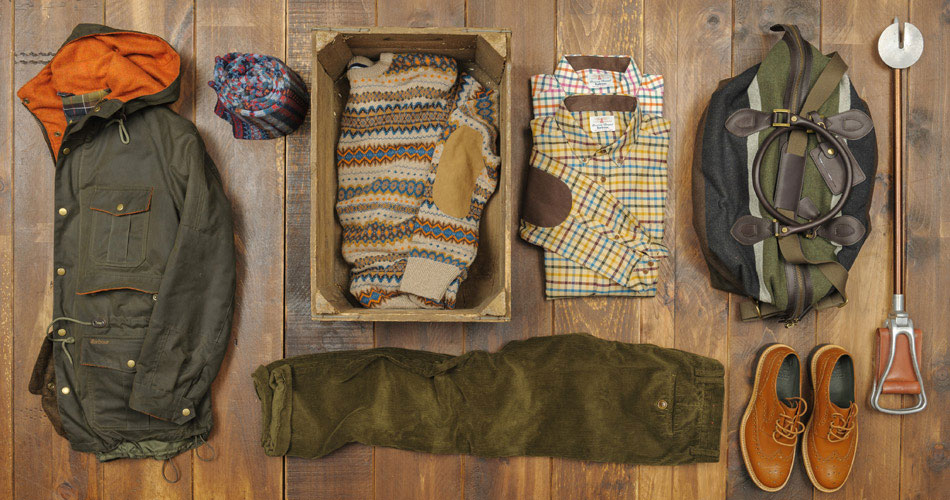 Barbour Heritage Fall 2012 Collection