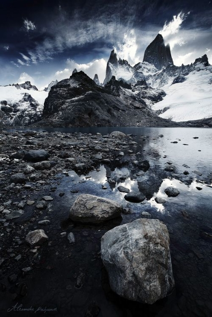 Cordillera Del Paine, Patagonia by Alexandre Deschaumes