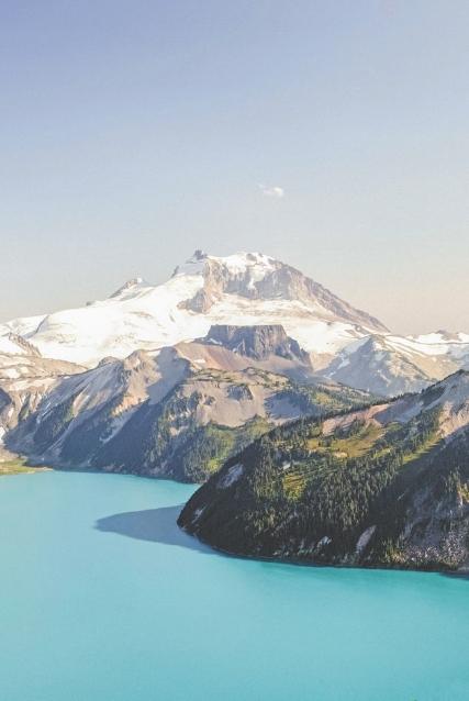 Garibaldi Mountain, BC by Luke Gram