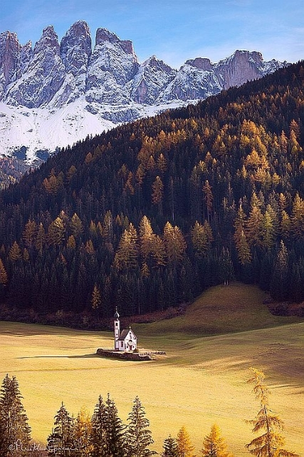 St. Magdalena Chapel, Seiser Alm Italy.jpg