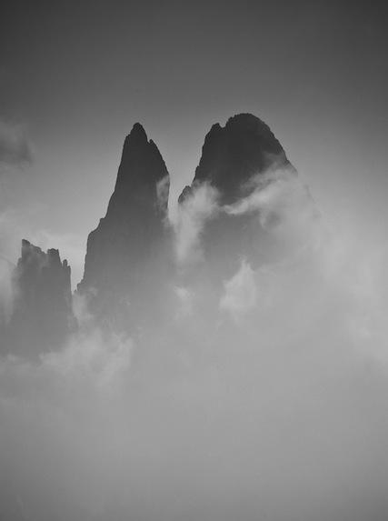 Dolomite Peaks by David Marscha