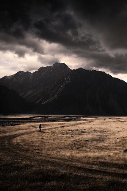 Tasman Valley, New Zealand by Nathan Kaso