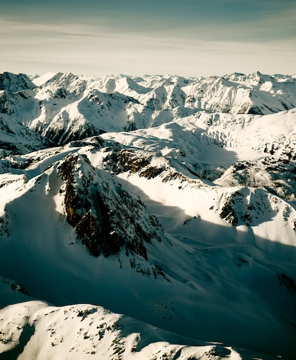 Whistler Pemberton Aerial View