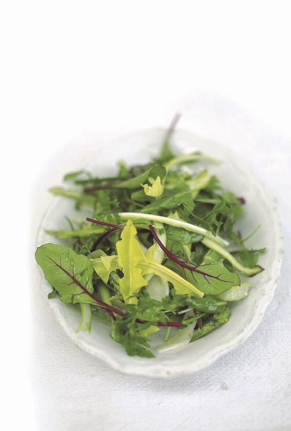 Replace your store bought greens with handfuls of fresh picked dandelion leaves.
