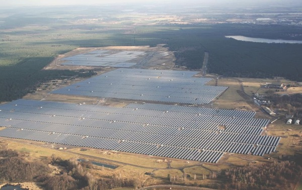 Brandenburg Briest Solarpark
