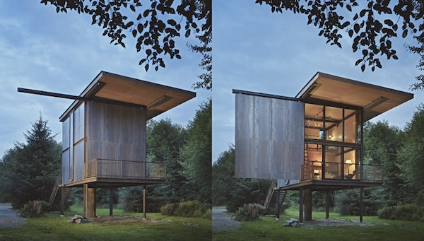 apocalyptic cabin // virtually indestructible  - Tom Kundig via Up Knörth