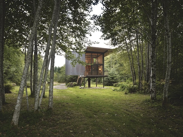 apocalyptic cabin // virtually indestructible - by Tom Kundig via Up Knörth