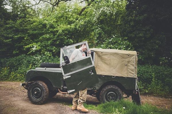 '55 Land Rover