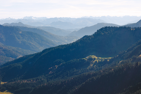 hiking in bavaria -- via up knörth