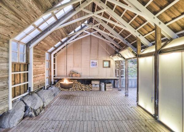 Aure Boathouse, Norway: Møre og Romsdal via upknörth