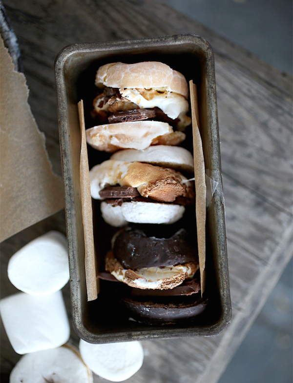 Camp Food; S'Mores Doughnuts