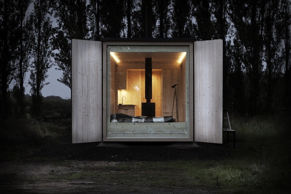 Ark Shelter; Modular Micro Home — Up Knörth