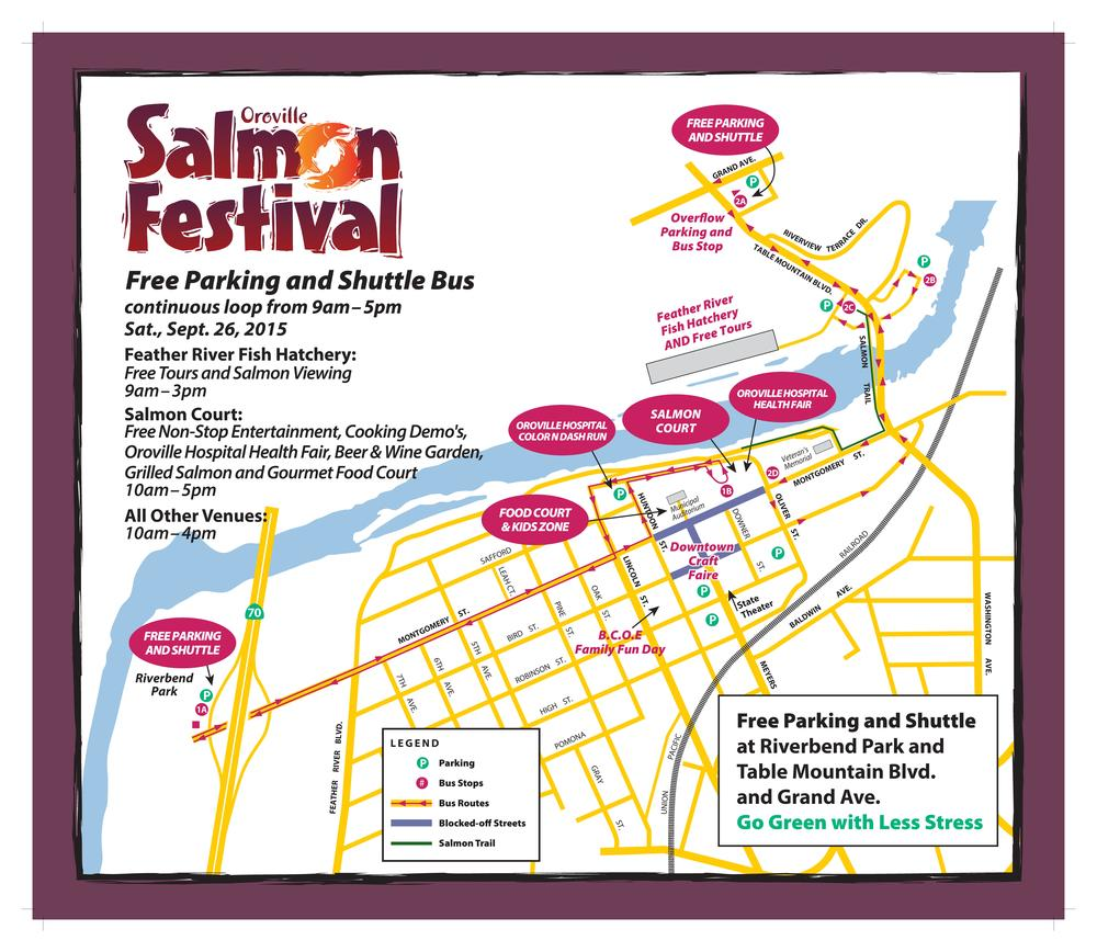 The Salmon Festival is FREE to attend!!!