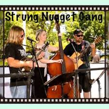 The Strung Nugget Band plays Bluegrass at noon