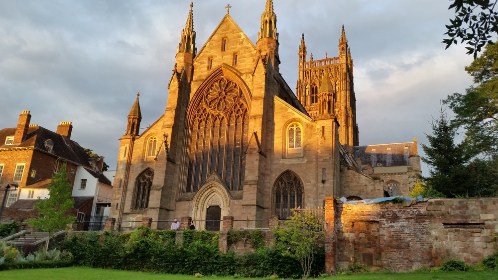 Worcester Cathedral, Worcester, England