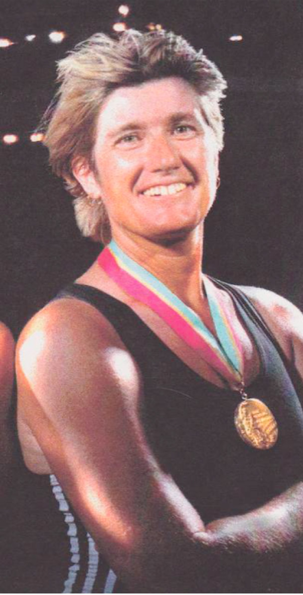 Carol Bower 1984 Olympic Gold Medal Winner
