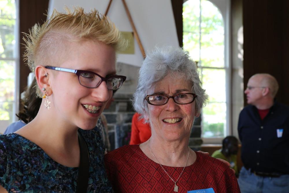 Lauren Malinowski & Emily Davis 75th Anniversary of PGRC May 4, 2013