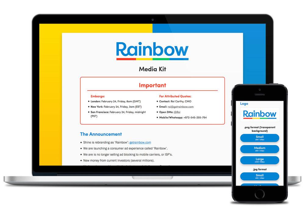 Media Kit microsite